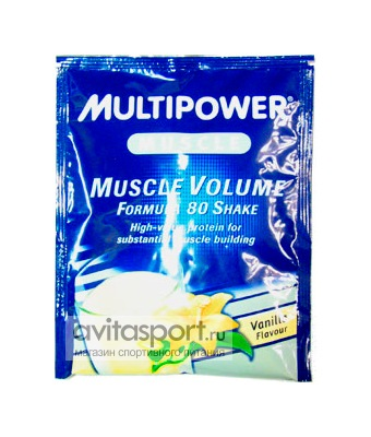 Multipower Muscle Volume Formula 80 Shake 30 г