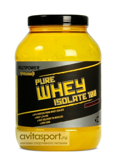Multipower Pure Whey Isolate 100 908 г