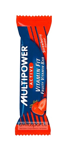 Multipower Батончик Vitamin Fit Bar 45 г
