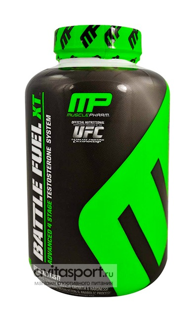 MusclePharm Battle Fuel XT 160 капсул