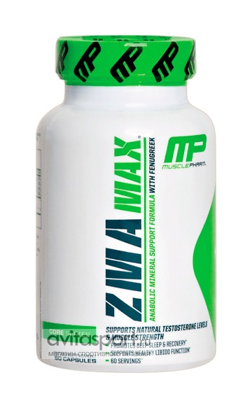 MusclePharm ZMA Max 60 капсул