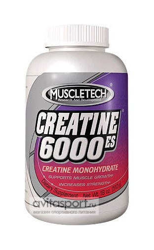 MuscleTech Creatine 6000-ES 510 г