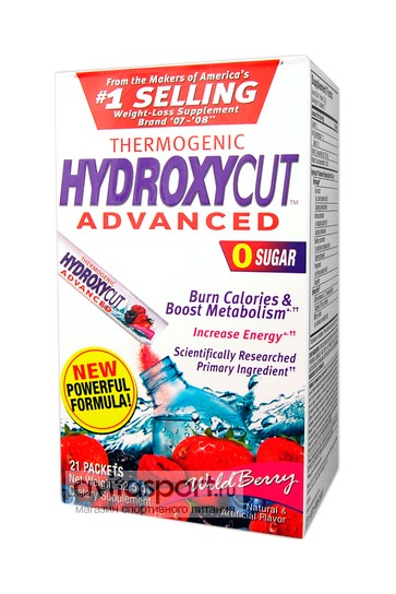 MuscleTech Hydroxycut Advanced 21 пакетик по 2,4 г