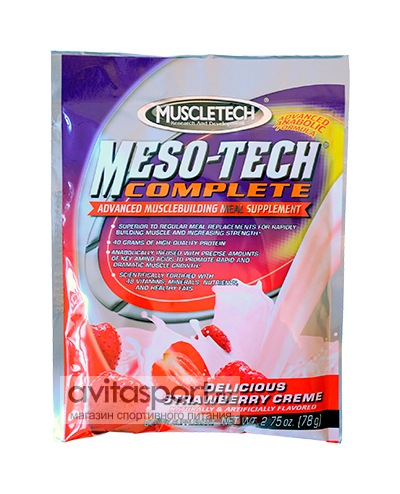 MuscleTech Meso-Tech 1 пакетик (78 г)