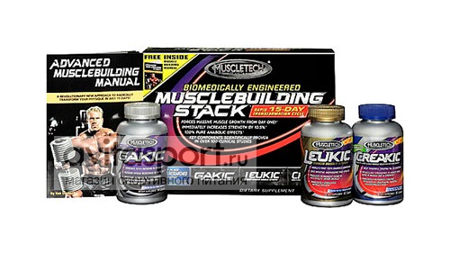 MuscleTech Musclebuilding Stack 244 каплет