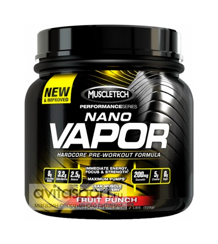 MuscleTech naNO Vapor Performance Series 525 г
