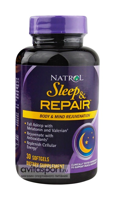 Natrol Sleep & Repair 30 капсул
