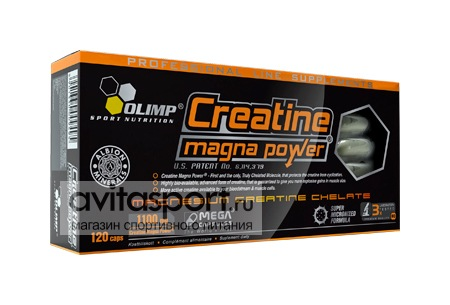 Olimp Creatine Magna Power 120 капсул
