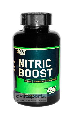 Optimum Nutrition Nitric Boost 180 таблеток