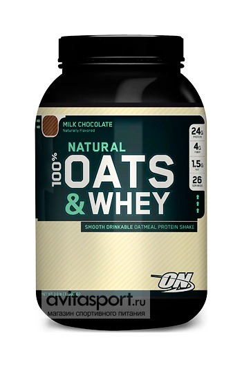 Optimum Nutrition 100% Natural Oats & Whey 1363 г