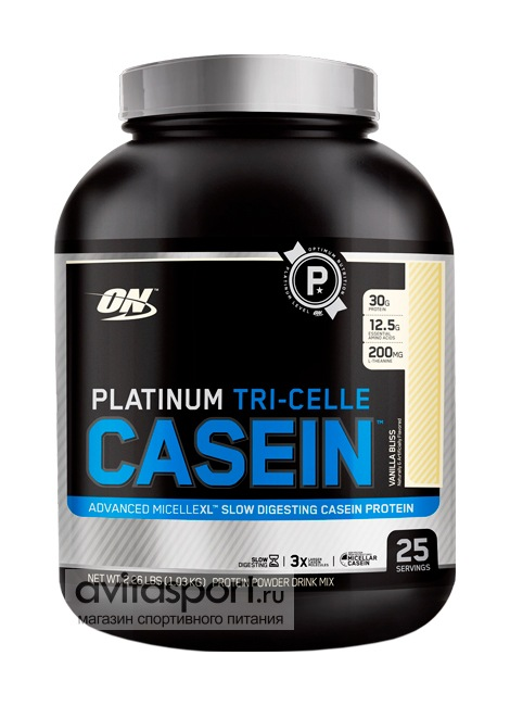 Optimum Nutrition Platinum Tri-Celle Casein 1030 г