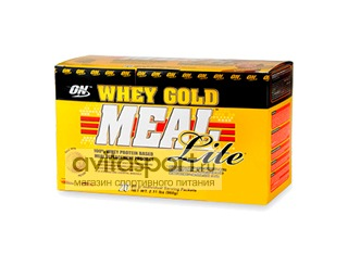 Optimum Nutrition Whey Gold Meal Lite 20 пак