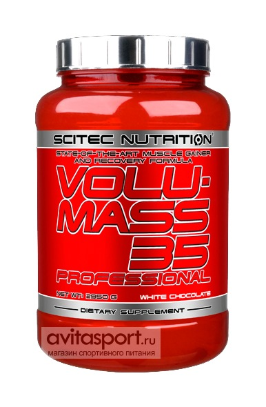 Scitec Nutrition Volumass 35 Professional 2950 г