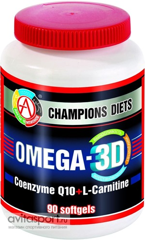 Academy-T Omega-3D 90 капсул